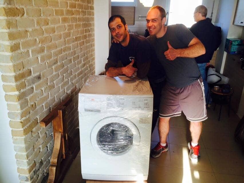 הובלות מכונת כביסה
